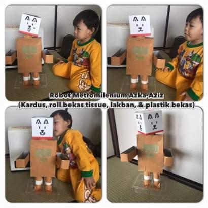 """Teh Novita """"Robot Kardus"""""""