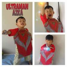 "Teh Novita ""Ultraman Azka"""