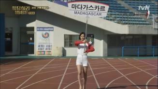 Latihan Picket Girl di Olimpiade 1988, Korea Selatan