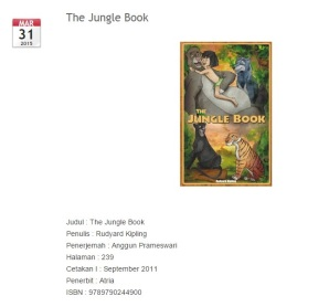 "Resensi buku anak ""Jungle Book"""
